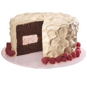 Mocha Raspberry Decadence Cake