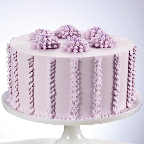 Pom Pom Flower Cake