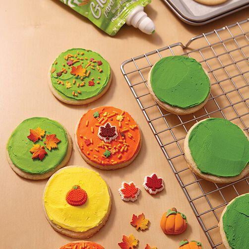 Falling Leaves Cookies