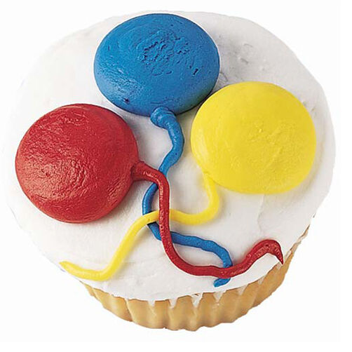 Balloons Aloft Cupcakes