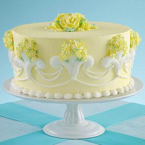 Fleur de lis Fantasy Cake