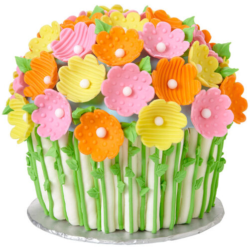 Flowers for Mother?s Day Giant Cupcake Cake