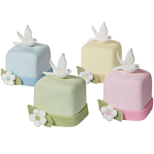 Wings of Love Mini Cakes