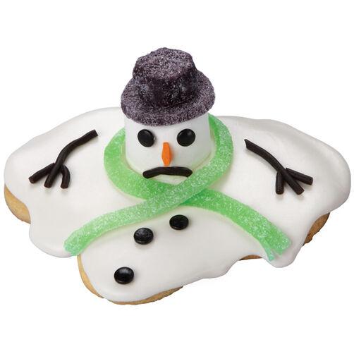 Shrinking Snowman Cookies