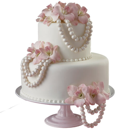 Poised in Pearls Cake