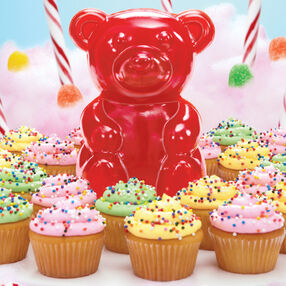 This Gummy?s Hungry! Candy & Cupcake