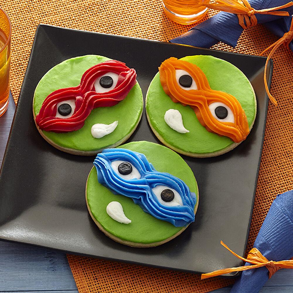 Teenage Mutant Ninja Turtles Cookies Wilton