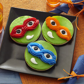 Teenage Mutant Ninja Turtles Cookies
