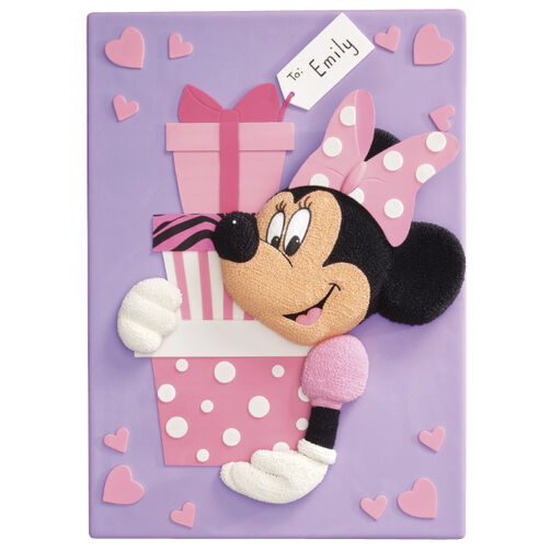Minnie Mouse?s Tower of Gifts Cake