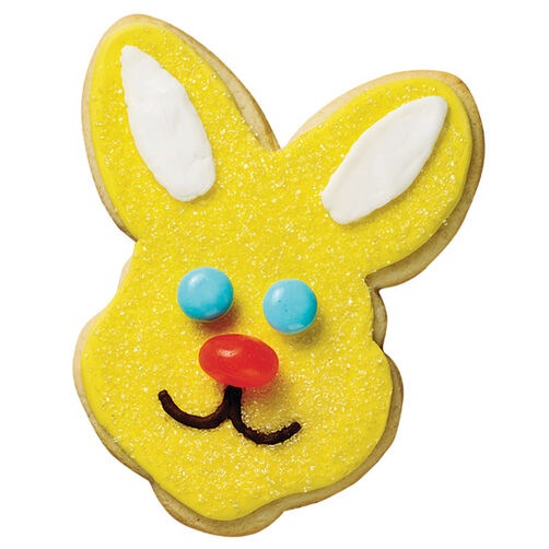 Sunny Yellow Bunny Cookie