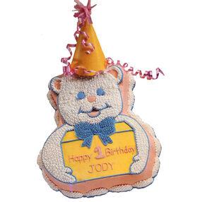 Baby Talk Bear Cake