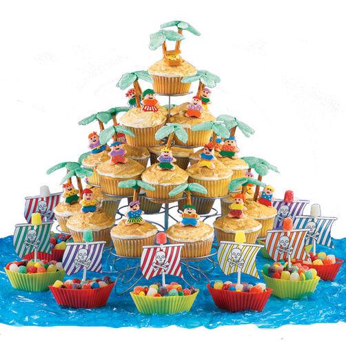 Pirate Treat Fleet Cupcakes