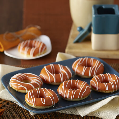 Pumpkin Spiced Baked Donuts