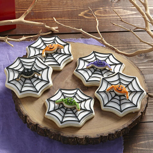 Spider Cookies With Wicked Webs Wilton