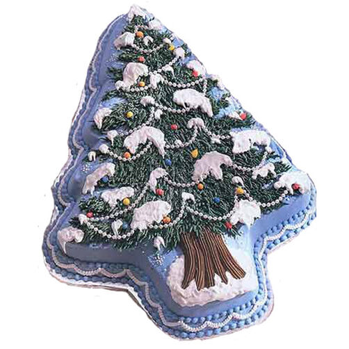 Sparkling Spruce Cake