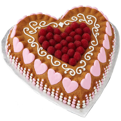 Love Shape Cake Images : It Takes a Lot of Love Cake Wilton
