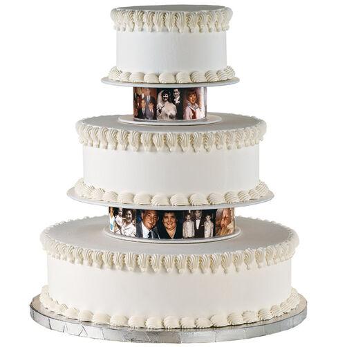Sentimental Snapshots Cake