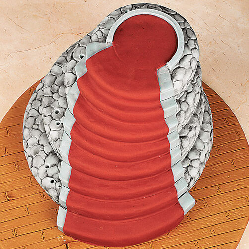 Fondant Staircase and Carpet