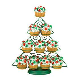 Falling Snowflakes Cupcakes Wilton