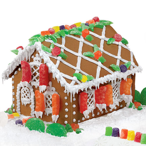 Seasonal Splendor Gingerbread House