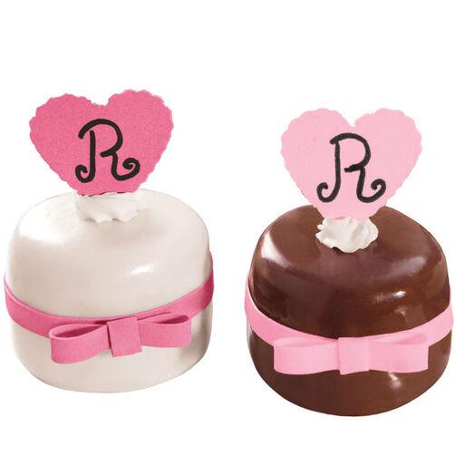 Neatly Dressed Desserts Mini-Cakes