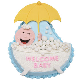 Bubbling With Excitement Cake