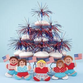 Patriotism on Parade! Cookies & Cupcakes