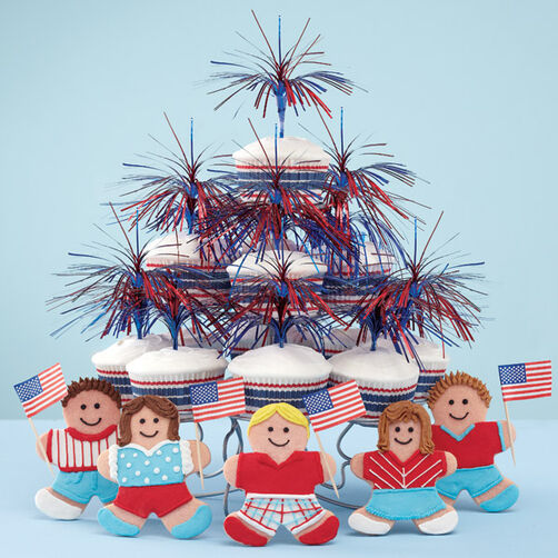 Patriotism on Parade! Cookies & Cupcakes