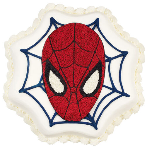 Spider Man Cake Wilton