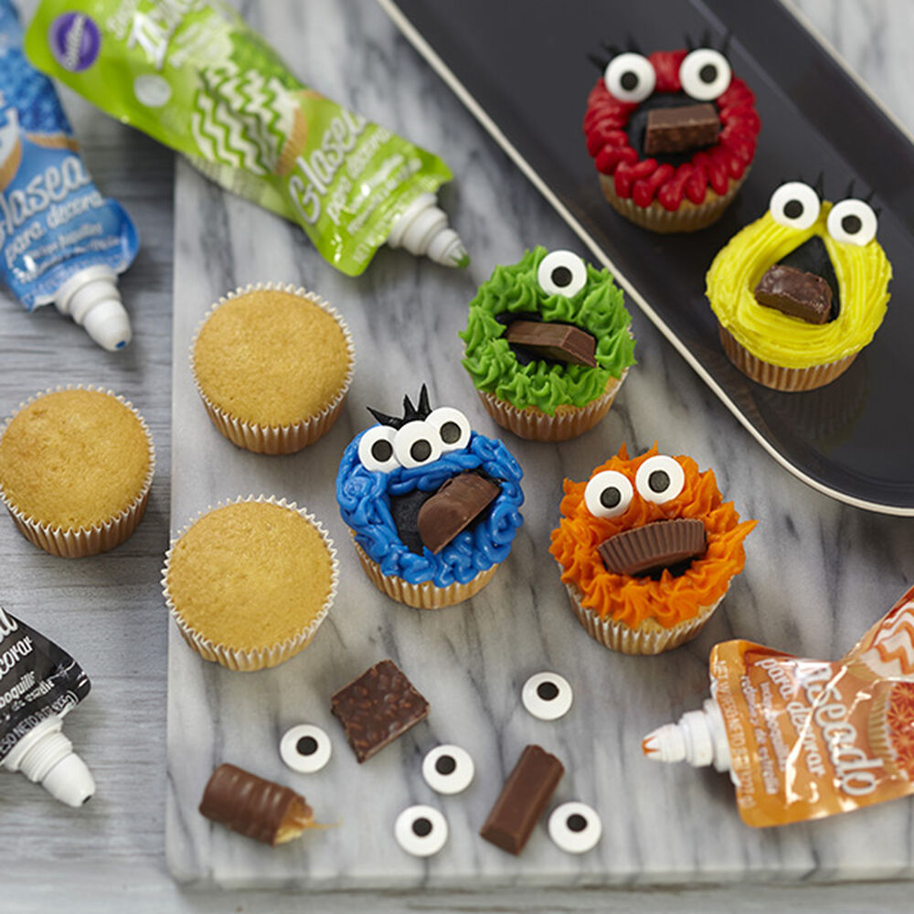 Monster Mouthfuls Cupcakes Wilton