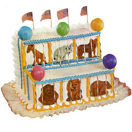 Animal Circus Cake