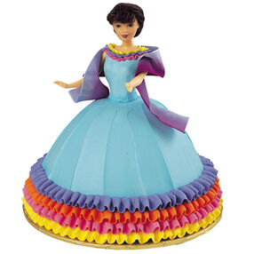 Fiesta Girl Doll Cake