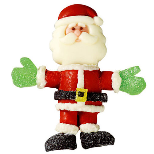 Merry Marshmallow Santa Lollipop
