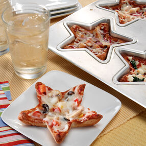 Spinach Ricotta Mini Pizzas
