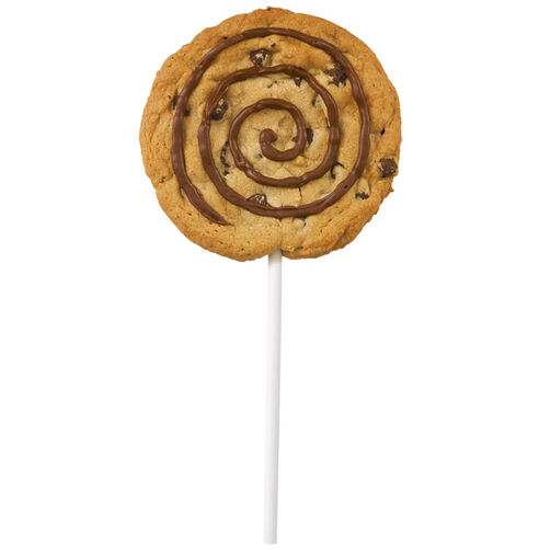 Chocolate Chip Swirl Cookie Pop