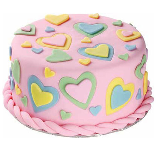 A Gift From The Heart Cake