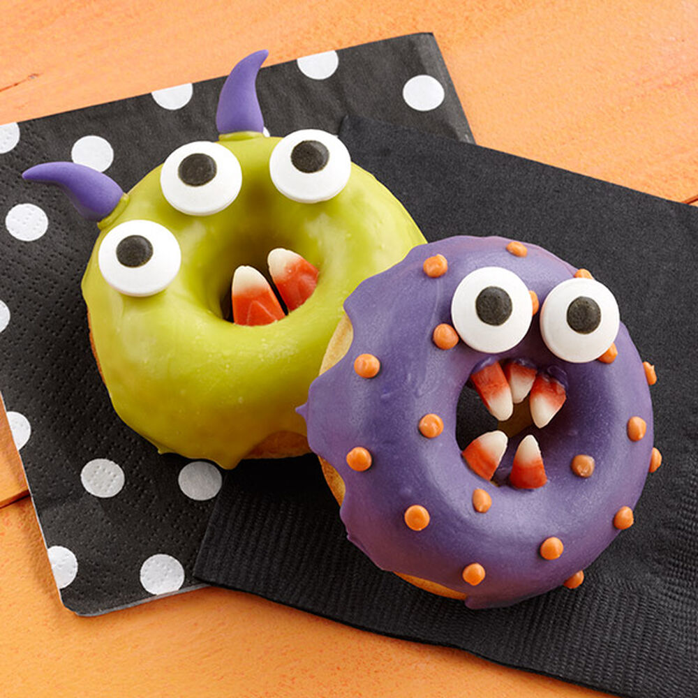 monster chomper halloween donuts wilton - Halloween Bakery Ideas