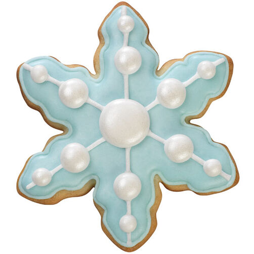 Stylish Snowflake Cookie