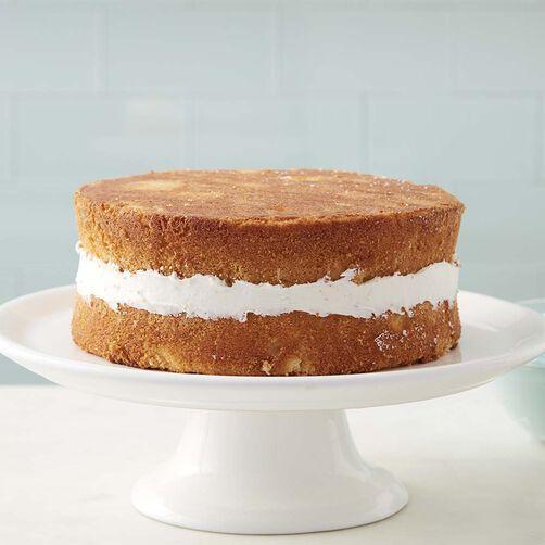 Basic Cake Recipe - Homemade Yellow Cake - How to Make a Simple Cake