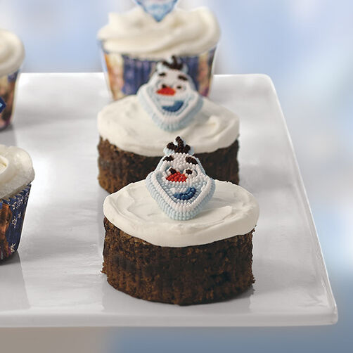 Olaf Brownies