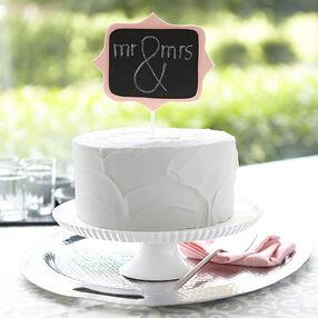 Chalkboard Topper Cake
