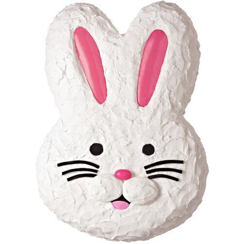 Wilton Easter Cake Decorating Ideas : Fun & Fluffy Bunny Cake Wilton