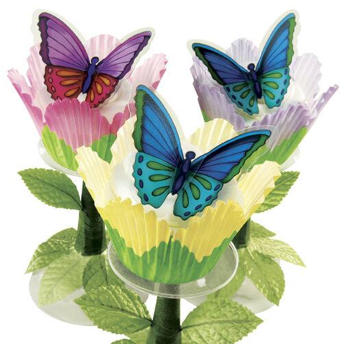 Flower Flyer Cupcakes
