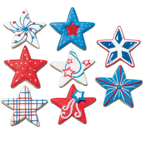 Stars on Parade Cookies