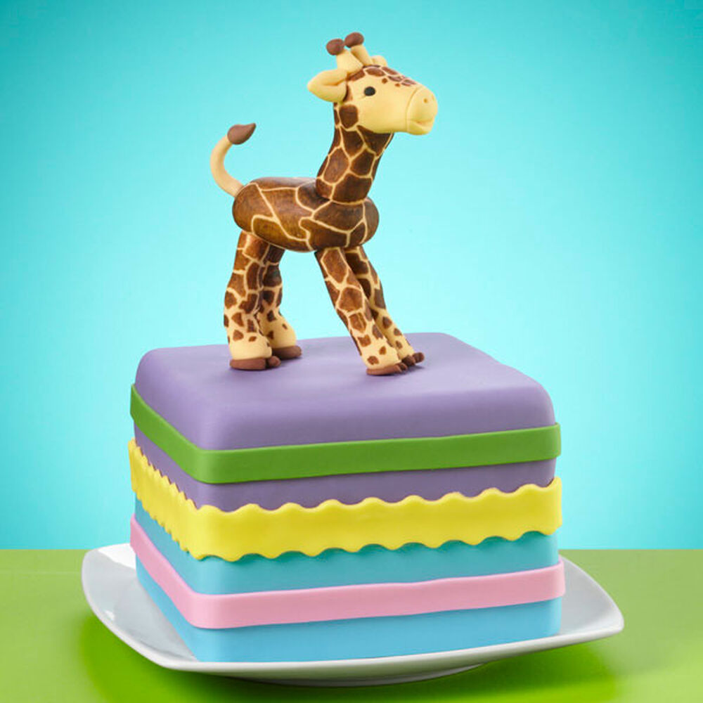 Crafty Giraffe Cake Wilton