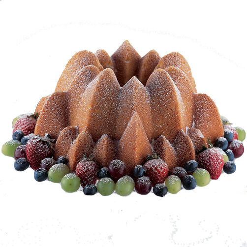 Lemon and Berry Harvest Cake