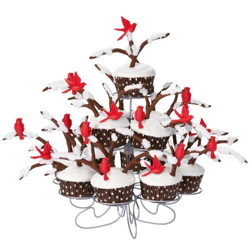 Winter Perch Cupcakes