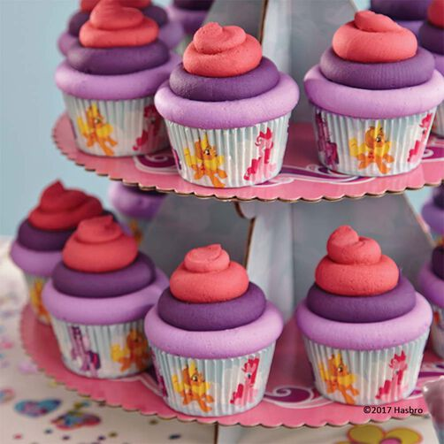 My little pony cupcake tower wilton Cupcake decorating ideas