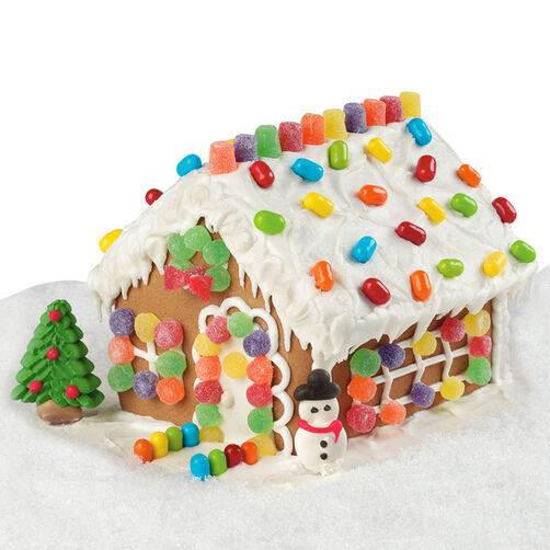 Holiday Hideaway Gingerbread House
