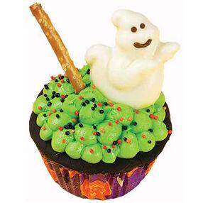 Boilin' Cauldron Cupcakes